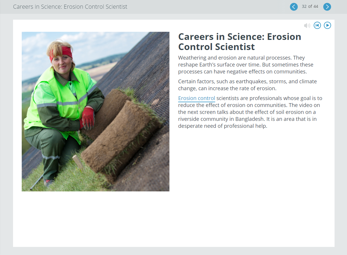 Edmentum's New Middle School Science Courses Careers Feature
