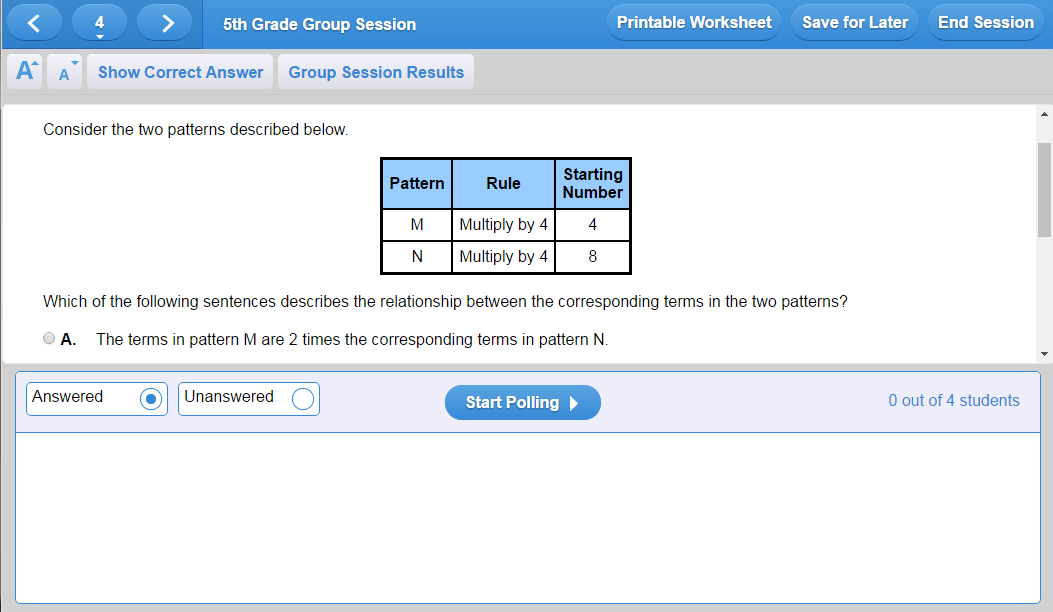 Study Island Group Sessions