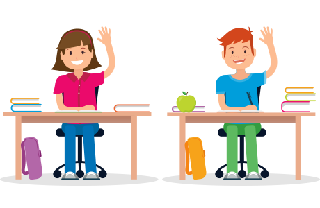 Students In Class Clipart
