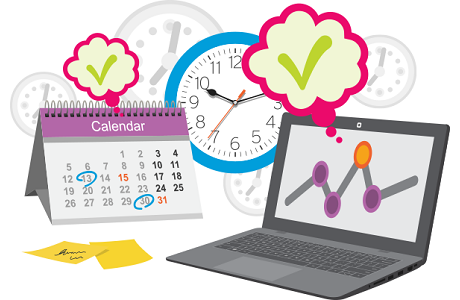 6 tips to help students master time management in online courses 6 tips to help students master time management in online courses altavistaventures Gallery