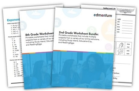 FREE Printable Worksheet Bundles for Summer Learning | Edmentum Blog