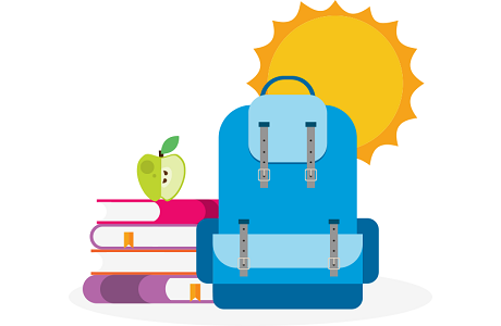 Image result for student school summer clipart